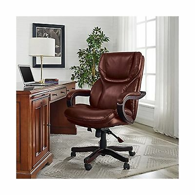 Executive Chair Bonded Leather Seat