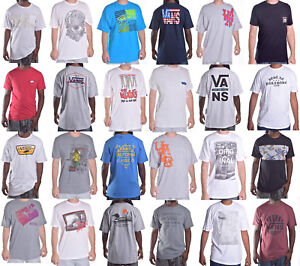Vans-Men-039-s-Mix-Match-CLASSIC-TEE-Shirt-Taille-Choisir-Style-amp-Couleur