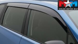 Rain Guards OEM NEW F0010SG600 Subaru Forester Side Window Deflectors