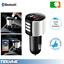 Bluetooth-MP3-FM-Transmitter-Dual-USB-Charger-Handsfree-Car-Kit-iPhone-Android thumbnail 1