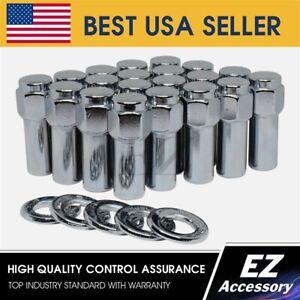 Cragar Standard Mag Lug Nut 1//2-20 with Offset Washer Set of 20 Pcs
