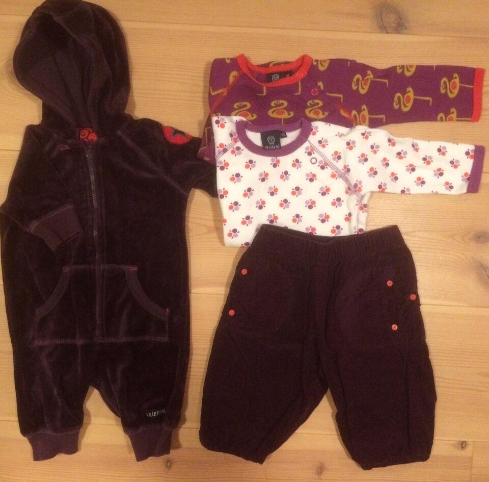 Blandet tøj, Pigetøj 56-62, Villervalla og Ej sikke lej