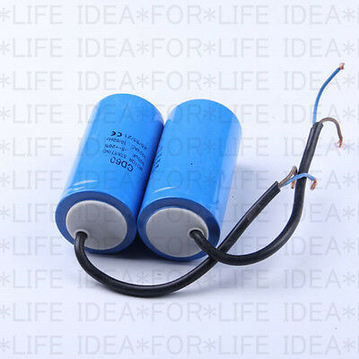 US Ship CD60 Motor Start Capacitor 500MFD 500UF 250-450VAC HVAC Capacitor
