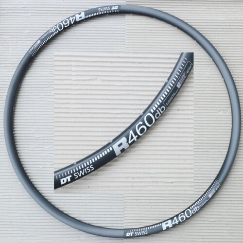 DT SWISS R 460 DB Disc Brake Felge VL 6,5 mm schwarz 28 622x18-24 Loch
