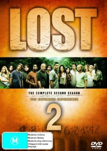 1 of 1 - Lost Season 2  - DVD Region 4 Good Condition (missing disc 4)