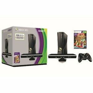 Microsoft Xbox 360 S 250GB System Kinect Bundle Very Good ...