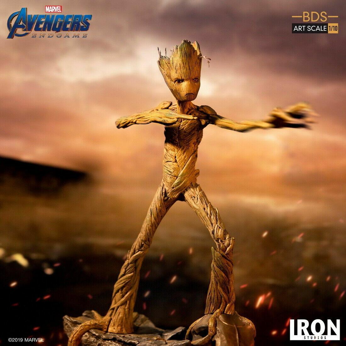 Iron Studios 1  10 Avengers 4 MARCASM18519 -10 Groot Action Figur
