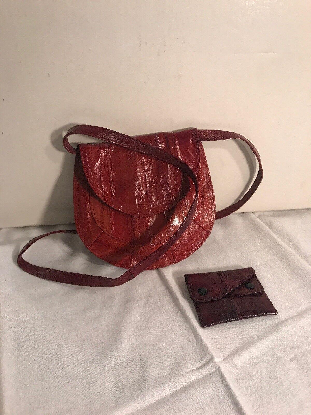 Vintage, Danen Handtasche, Echt Leder, Clutch, mit Portemonaie | Mama kaufte ein bequemes, Baby ist glücklich  | Ausgezeichnete Leistung  | Haltbarer Service