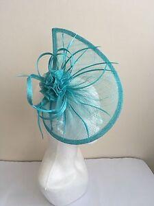 Mocha Hat Fascinator Ladies Aliceband Feather Hat Ladies Day Races Weddings