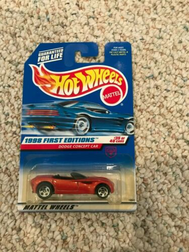 Hot Wheels 1998 First Editions Pick Your Car See Description diecast Mattel