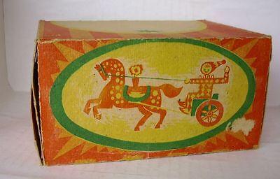 Blechspielzeug Brillant Repro Box Russische Box Clown Auf Eselkutsche Nachfrage üBer Dem Angebot Figuren
