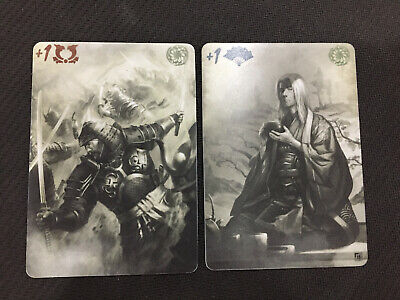 Legend of the Five Rings L5R Promo Full Art Plastic Imperial Favor  double sided