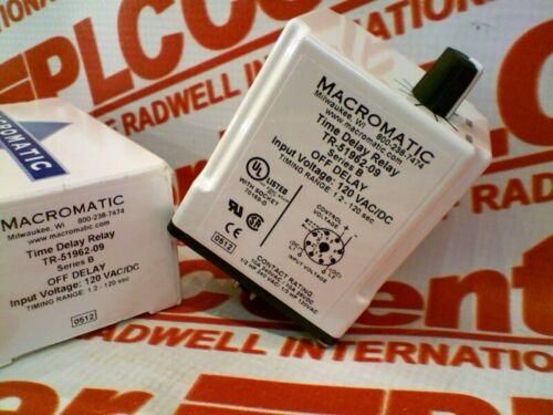 NEW IN BOX MACROMATIC TR-51962-09 TR5196209