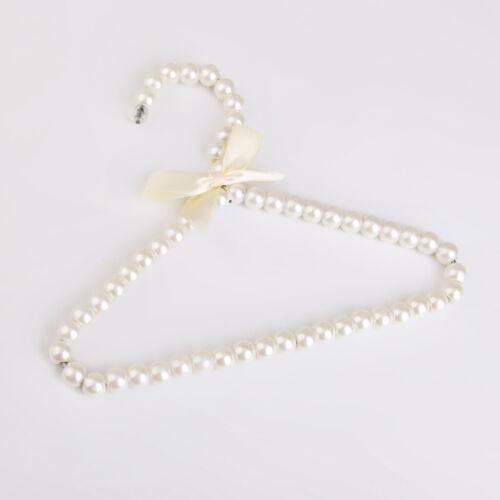Kunststoff Perlen Bogen Kleiderbügel Haken Rack Für Erwachsene 20cm