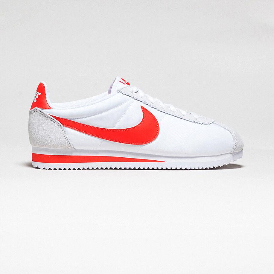 les hommes nike habanero nylon blanc rouge rouge rouge cortez de chaussures d'athl 194363