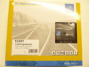 ESU-53451-Lokprogrammer-mit-Netzteil-serielles-Kabel-USB-Adapter-Neuware