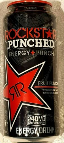 12--pack ROCKSTAR FRUIT PUNCH PERFORMANCE ENERGY DRINK 16oz.