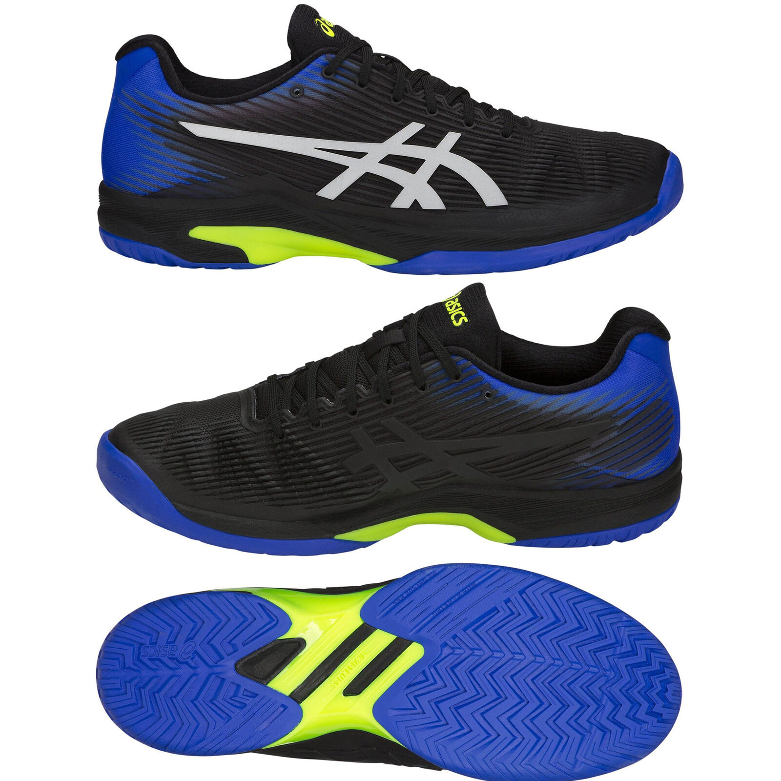 Asics Mens Gel Solution Speed FF All Court Cushioned Tennis shoes