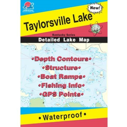 Fishing Hotspots L110 Kentucky Lake Maps Taylorsville Lake