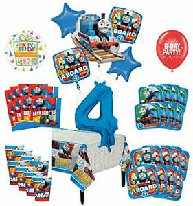 Mayflower Products Fire Truck Fire Engine 3rd Birthday Party Supplies and Balloon Decorations