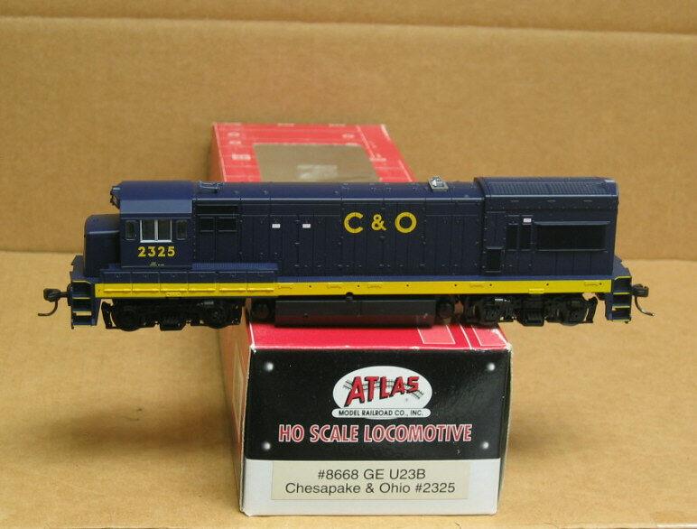 Atlas 8668 HO Chesapeake & Ohio U23B DC operation