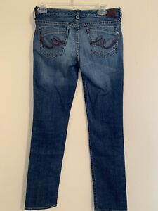 Womans-Express-X2-Skinny-W01-Ultra-Low-Rise-Jeans-Size-2R