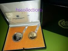 Malaysia  Agong Proof coin Set 2    2007