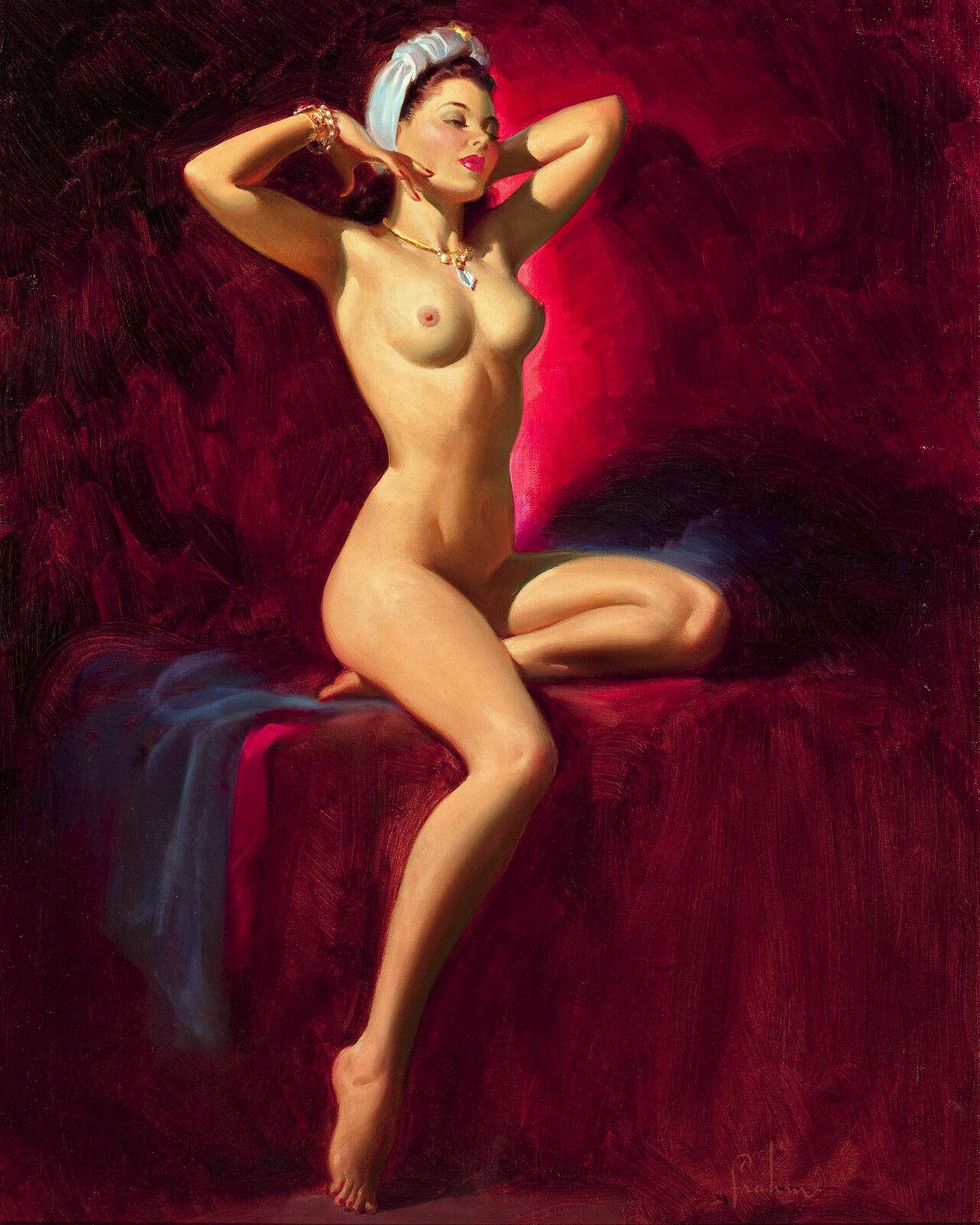 Nude poster by eric ferrar