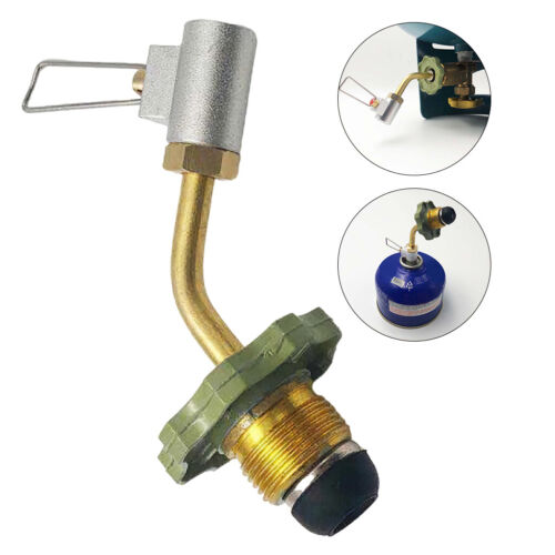 Outdoor Camping Gas Stove Propane Refill Adapter LPG Cylinder Hose