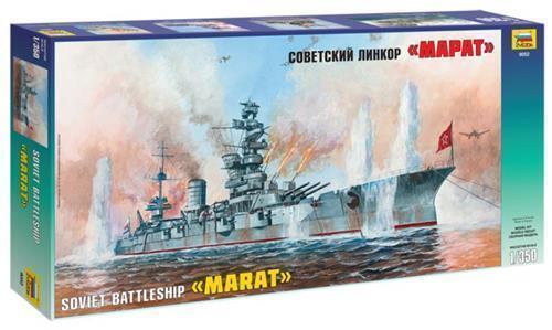 ZVEZDA 1.350 KIT  NAVE SOVIET BATTLESHIP MARAT ART. 9052  prix ultra bas