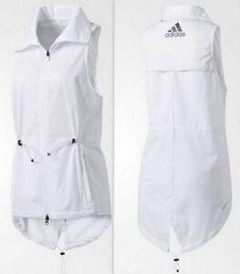 Clima adidas leggero 80 full zip bianco Storm Nwt 190303187178 S da Bq1901 Gilet donna qv8wXxn