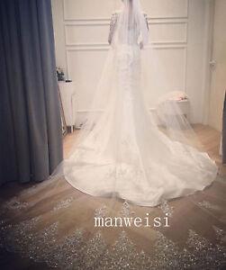 2018-ivory-Wedding-Veils-Bling-Rhinestone-Cathedral-Length-Bridal-Veil-In-Stock