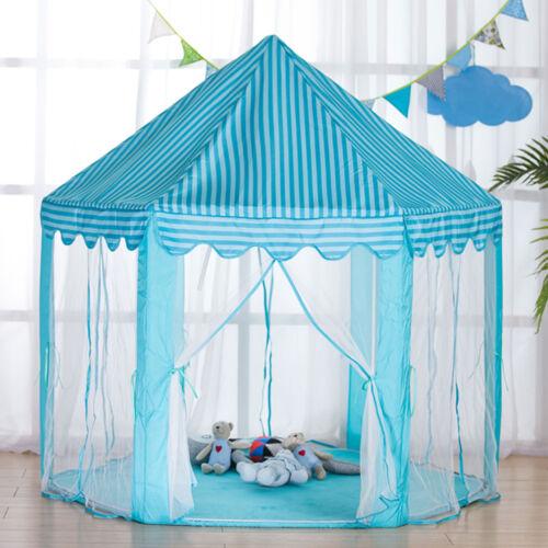 Tente Pour Enfants Filles Tunnel Tente Jeu Château Princesse Maison Jouet Cabane