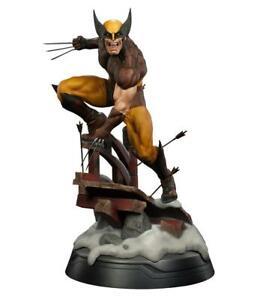 X-Men-Wolverine-Brown-Suit-9-5-034-PVC-Statue-Figure-Marvel-Comics-15