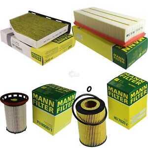 Mann-Filter-paquete-VW-Sharan-7n1-7n2-2-0-TDI-4-Motion-5n-Quattro-Drive-4