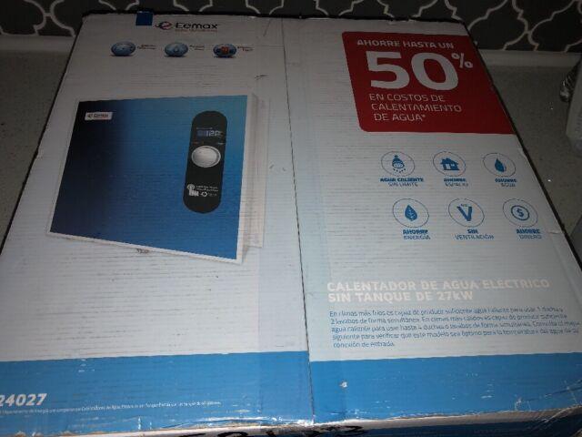 new eemax eem24027 27kw 240v indoor tankless electric water heater