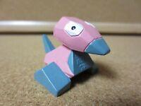 Vintage Genuine Pokemon Stamped Auldey TOMY Toy Figure 2 Inch Porygon (PG1081)