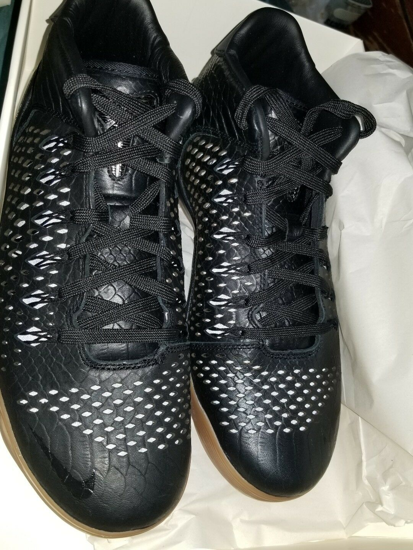 Nike Kobe IX 9 Mid EXT QS Black Snakeskin Gum Mamba SZ 9.5 704286-001 Basketball