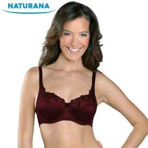 Naturana-Underwired-Soft-Cup-Bra-87543-34-46-B-DD-Womens