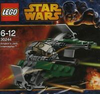 LEGO - Star Wars Mini Anakin's Jedi Intercepter Polybag 30244 BNIP
