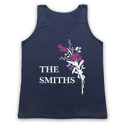 FLOWERS MORRISSEY UNOFFICIAL THE SMITHS ROCK BAND ICON ADULTS VEST TANK TOP