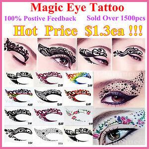 New-Temporary-Eye-Tattoo-Transfers-amp-Eyeliner-Sticker-amp-Eye-shadow-Sticker-Transfer