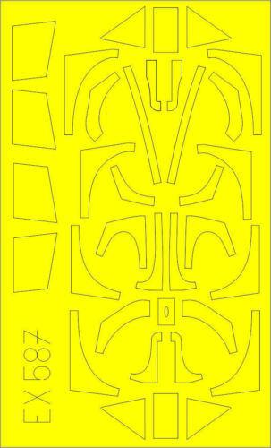 EDUARD EX587 Masking Sheet for Eduard Kit Fw190A TFace in 1:48