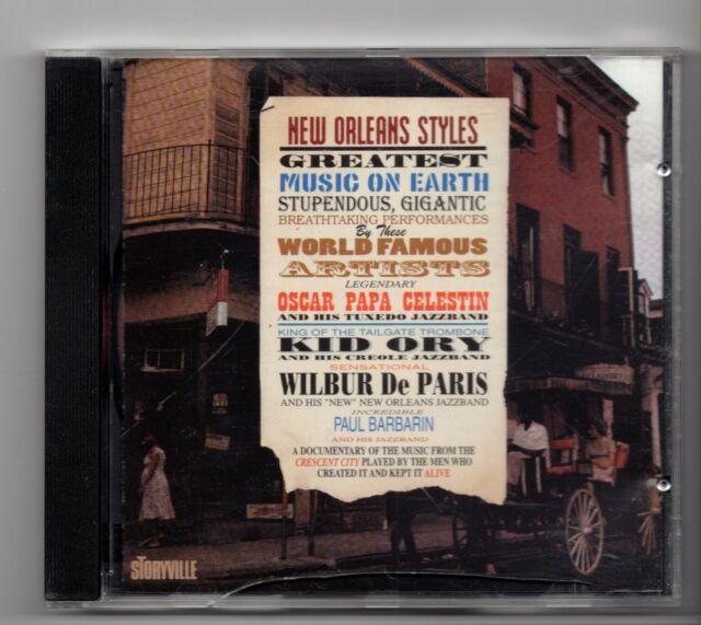 (JD967) New Orleans Styles, Ory-Celestin-Barbarin-De Paris - 1999 CD