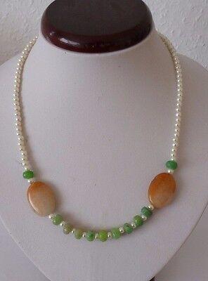 dehnbar grün Edelstein Armband Armschmuck Indische Jade Aventurin endlos