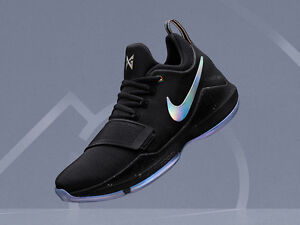 8497052222e6 Nike PG 1 TS Prototype size 8. Pre-Heat Shining Paul George. Black ...