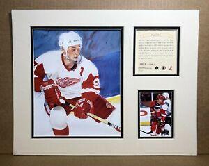 Detroit Red Wings SERGEI FEDEROV 1995 Hockey 11x14 MATTTED Kelly Russell