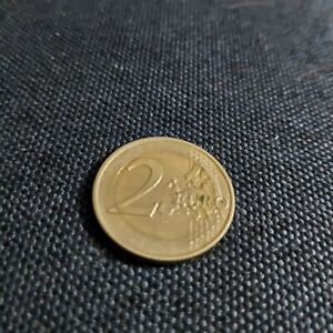 muntstukk van 2 euro uit Luxemburg