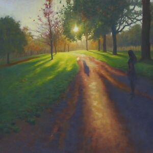 BEAUTIFUL-ORIGINAL-MARK-HARRISON-034-Some-Day-My-Prince-Will-Come-034-OIL-PAINTING