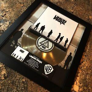 Details About Linkin Park Minutes To Midnight Million Record Sales Music Award Album Lp Vinyl